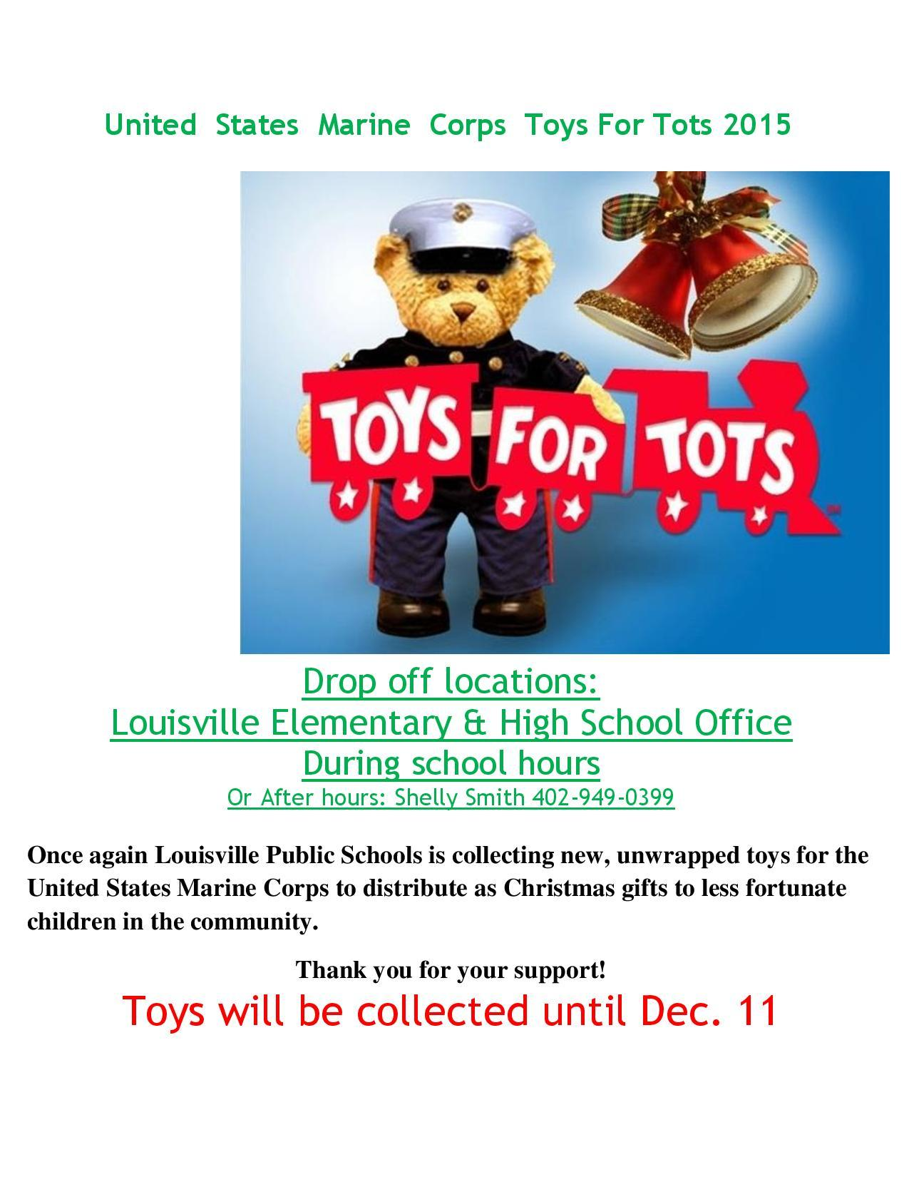 Toys For Tots Flyers Printable : Elmwood newsletter