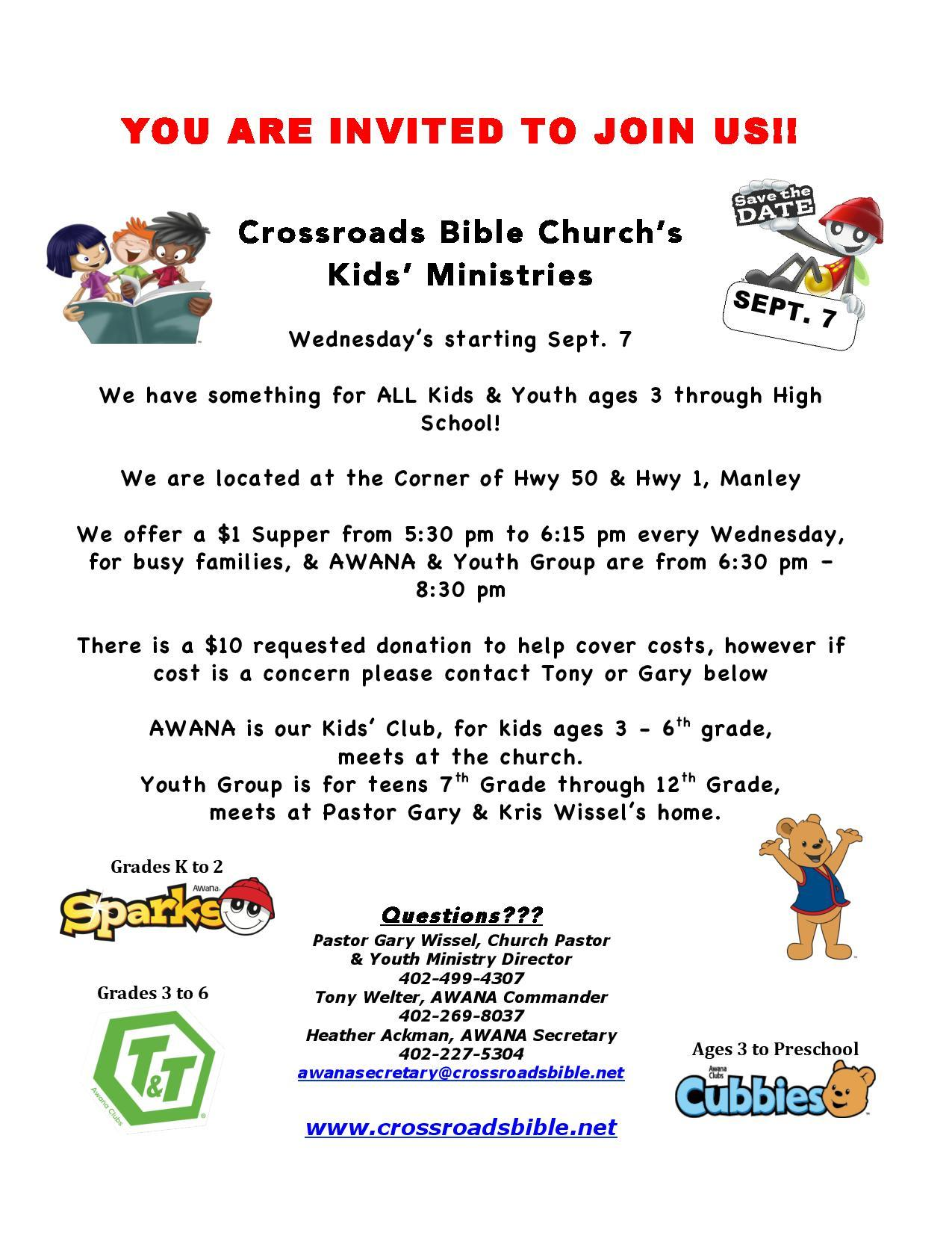 2016 AWANA flyer to Cassgram Community Newsletters page 001