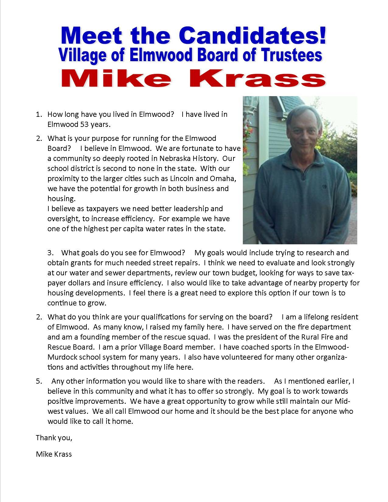 Mike Krass for nl