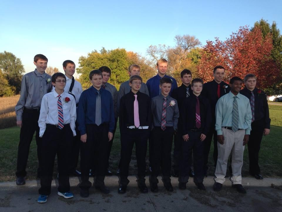 HC Freshman boys 2014 homecoming
