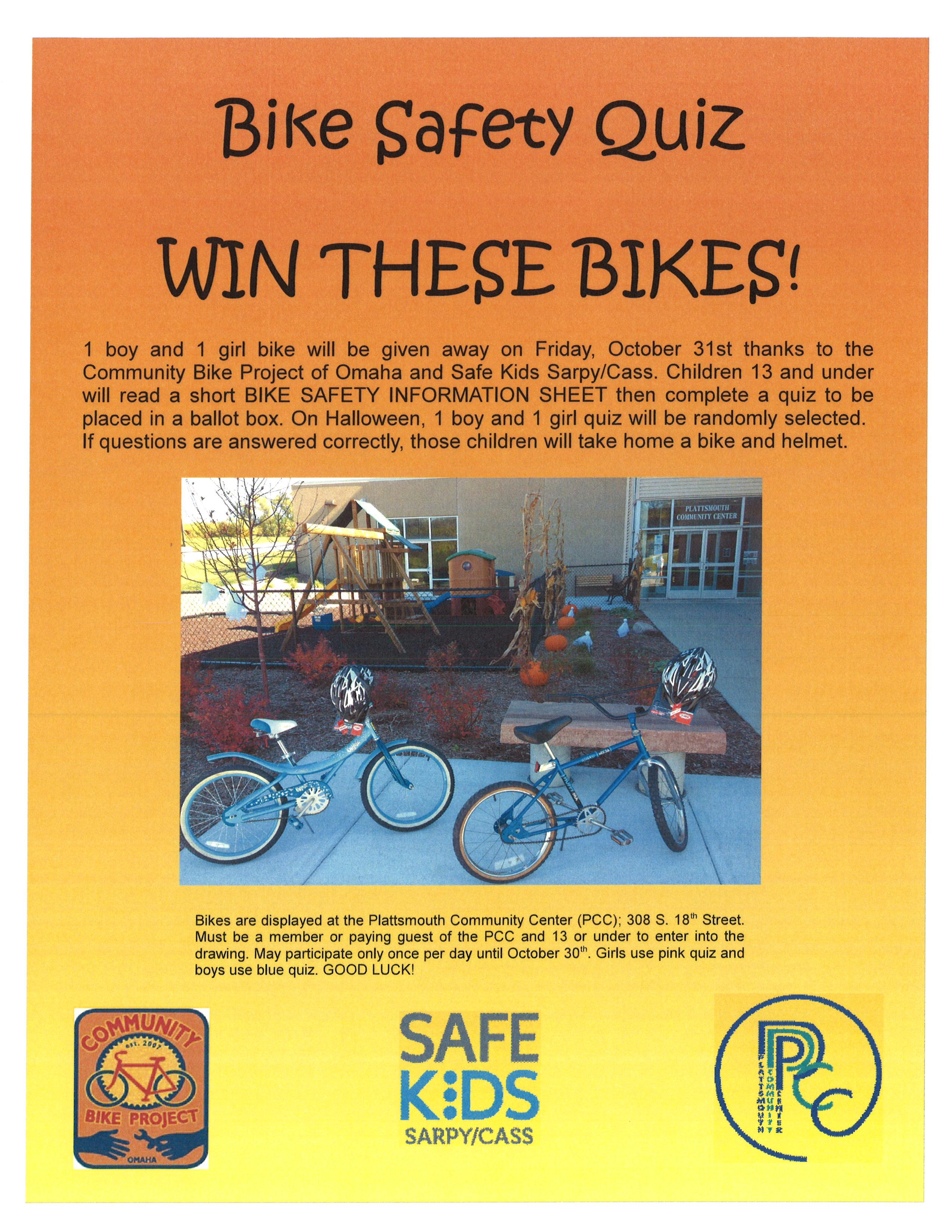 Bike Safety Flyer