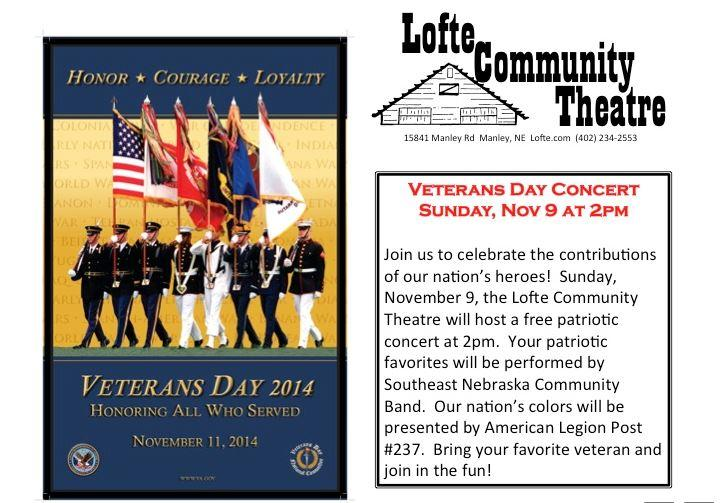 Lofte Veterans Day
