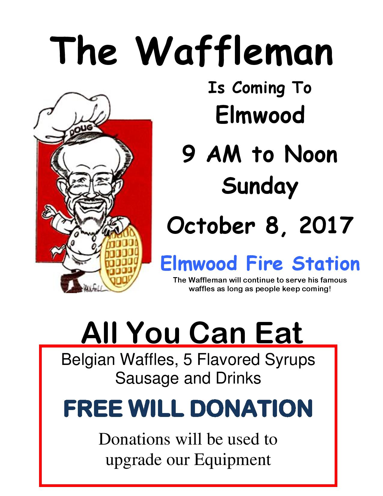 The Waffleman Flyer 2017