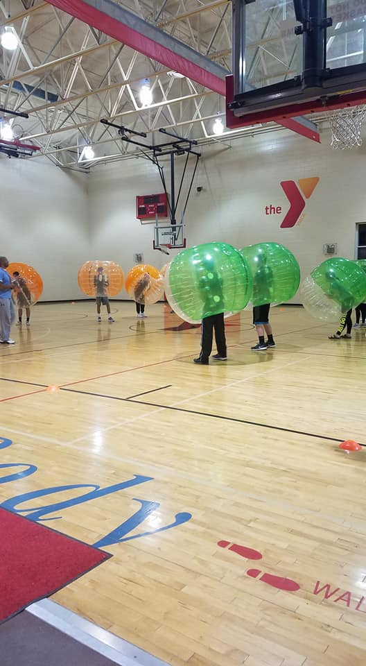 Post Prom2018 BubbleSoccer