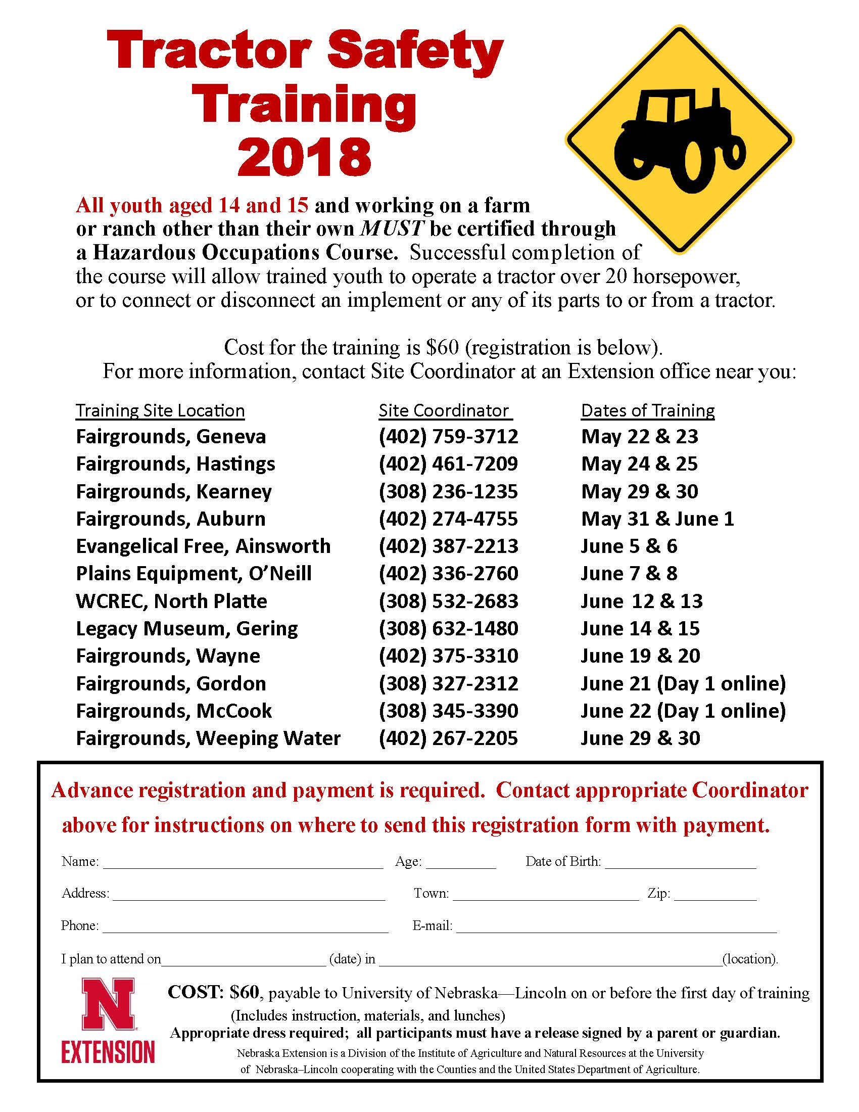 Tractor Safety Flier 2018 1