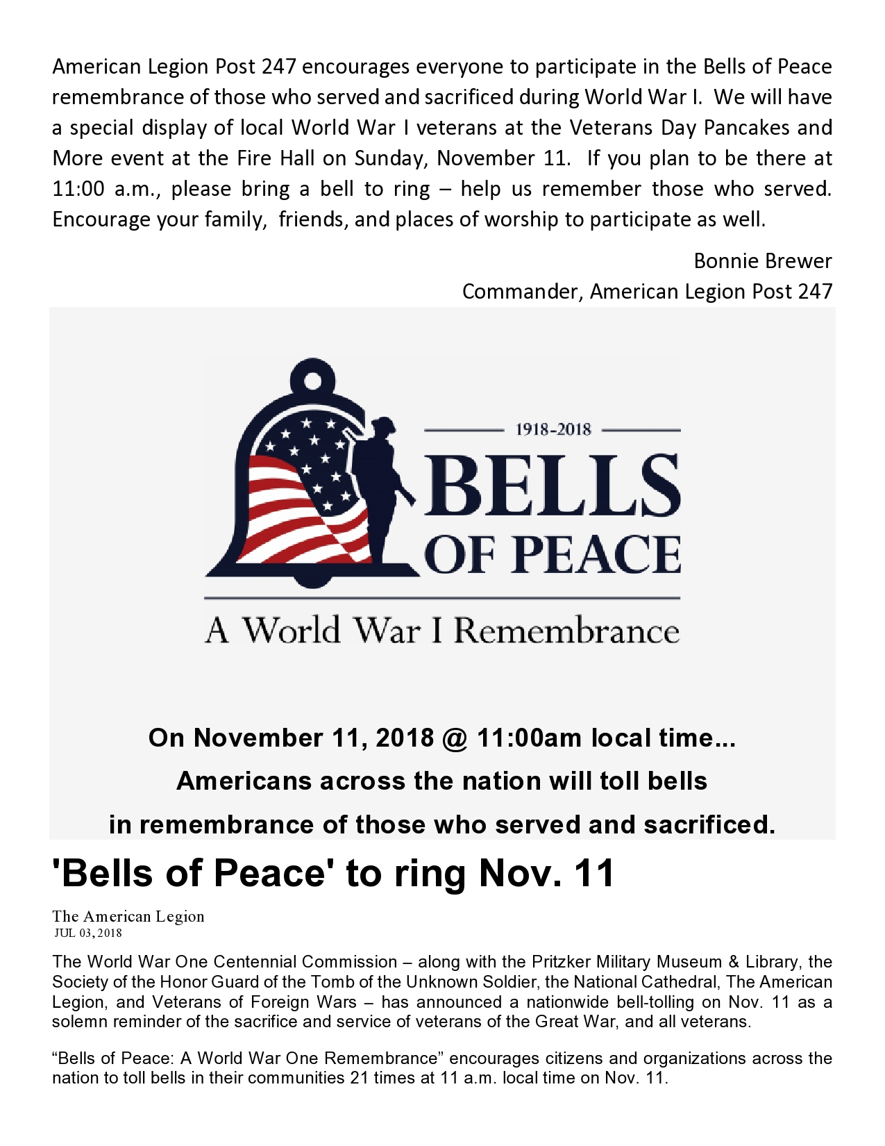 Bells of Peace Page 1