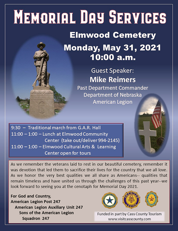 2021 Memorial Day Flyer to print