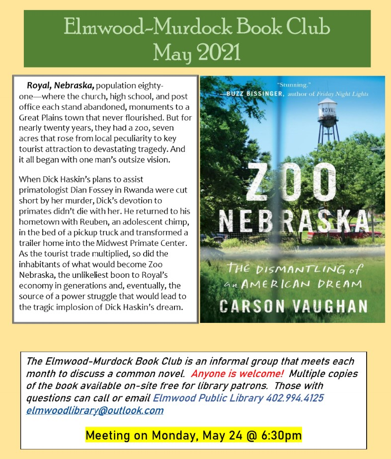 book club zoo nebraska