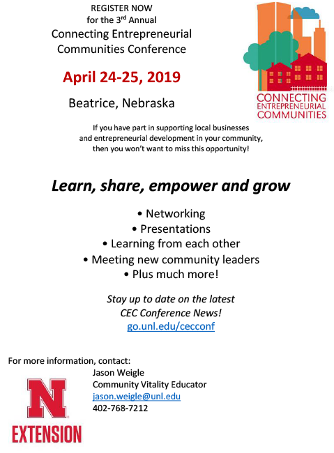 Connecting Entrepreneurial Communities 2019