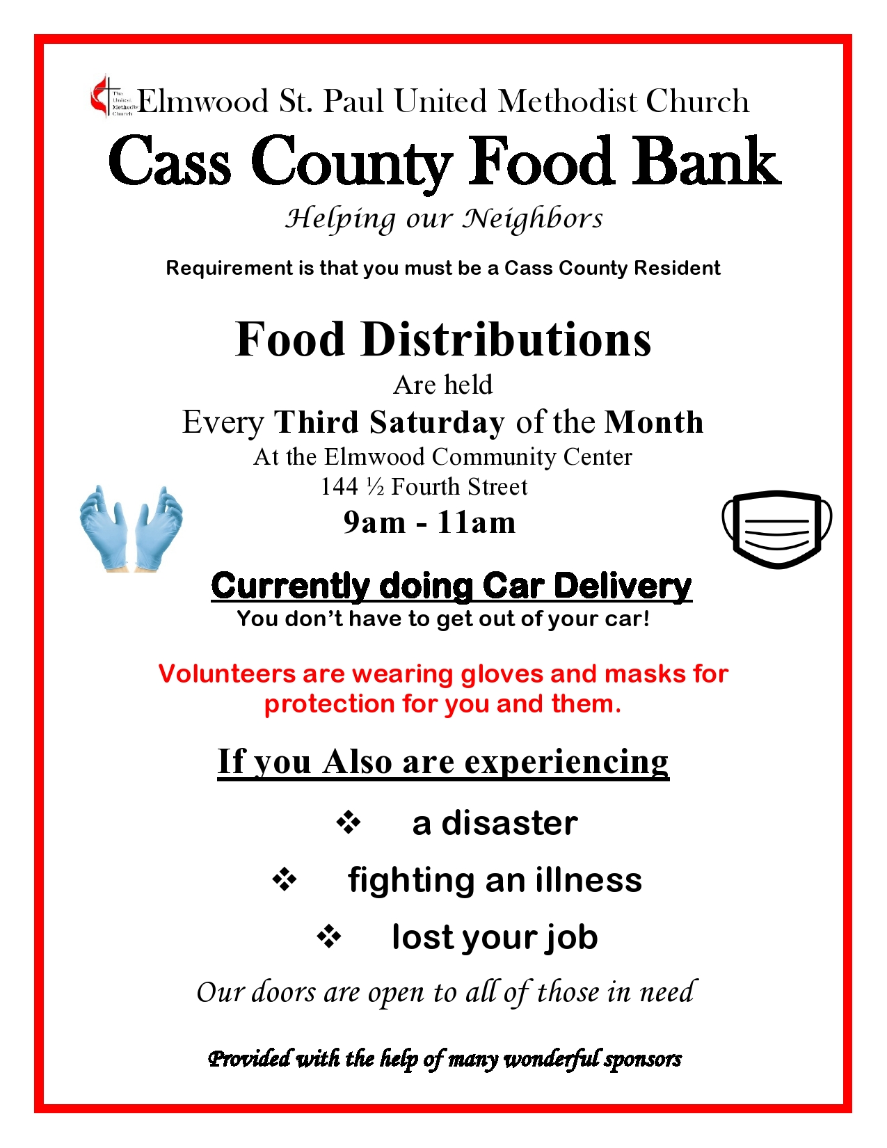 Advertisement for Food bank 2020 page0001 1